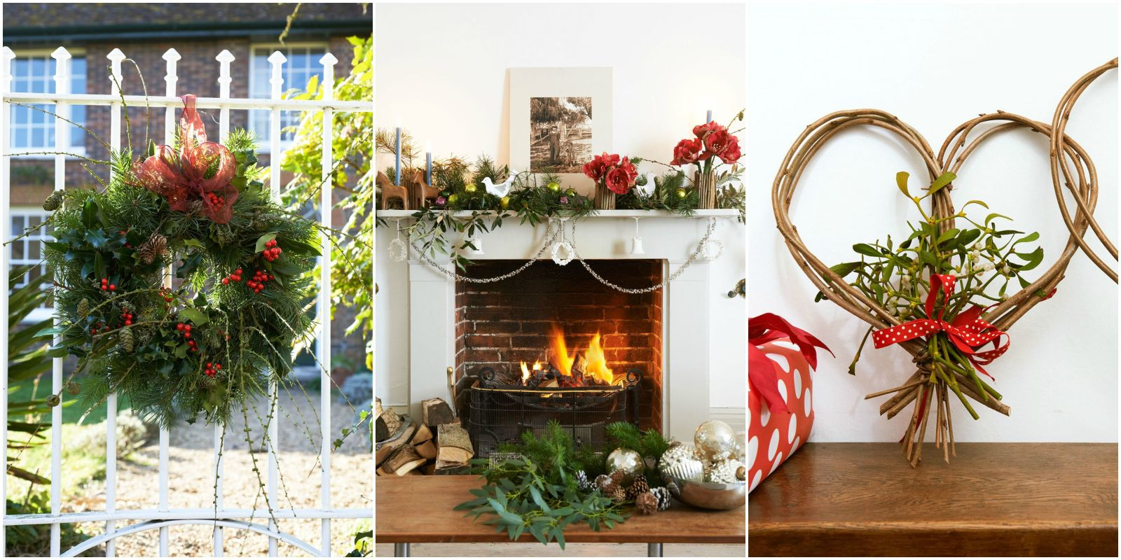Christmas Fireplace Part - 39: The Fireplace Is The Focal Point Of The Home And Never More So Than At  Christmas Time. The Warmth And Cosy Glow From Your Fire Draws Everyone  Together For ...